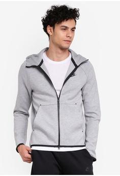 7f69eac3 Nike grey Nike Sportswear Tech Fleece Men's Full-Zip Hoodie  64998AAEBF86EFGS_1