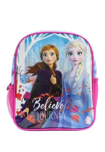 Disney pink and blue Frozen Cute Backpack 28BA0KC51B58B9GS_1