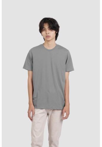DUE/E grey Heinz Tshirt in Beige CD1C4AA6134570GS_1