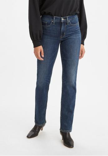 Levi's blue Levi's® Women's 314 Shaping Straight Jeans 19631-0130 D400DAA74523D6GS_1