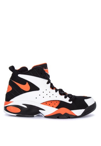 Nike black and white and orange Men's Nike Air Maestro II LTD Shoes C37C3SH87285BCGS_1