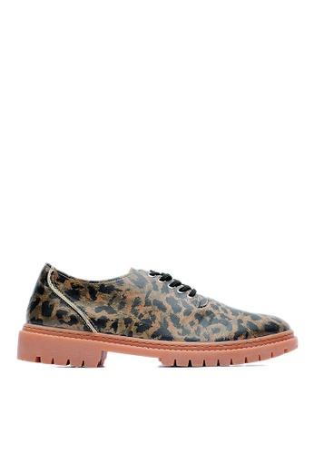 Life8 brown Life8xDaniel Wong。Leopard Print Casual Shoes-09277-Brown LI286SH51CCAMY_1