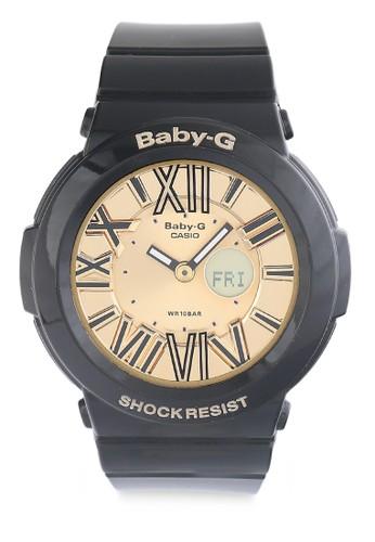 Baby-G black Casio BABY-G Jam Tangan Wanita - Black Gold - Resin - BGA-160-1BDR 8A1F8ACA44A872GS_1