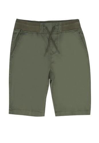 FOX Kids & Baby green Bermuda Drawstring Shorts 6C225KA440178EGS_1