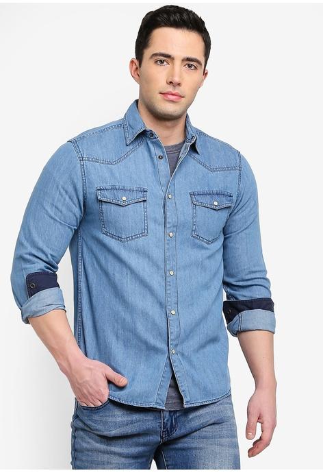 Denim Shirts Men Buy OnlineZalora Hong Kong rdCBoexW