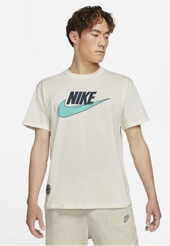 Nike beige As M Nsw Tee M2Z Purpose A2FAFAA990CBA3GS_1