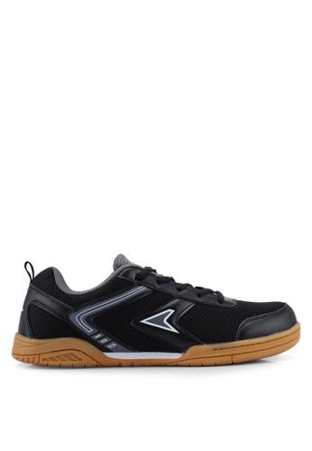 Power black Badminton Court Shoes 5C9C3SH8D220E9GS_1