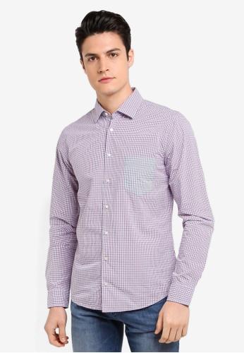 BOSS purple Epop Shirt - Boss Casual F4CFEAA57E3287GS_1