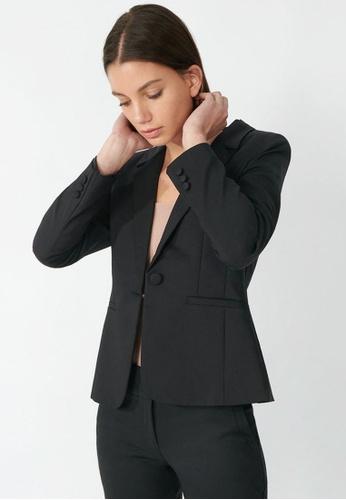 FORCAST black Taylor Suit Jacket 91DBAAA62BB69DGS_1