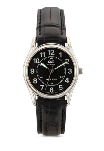 VG69Jesprit服飾305Y 數字皮革手錶, 錶類, 飾品配件