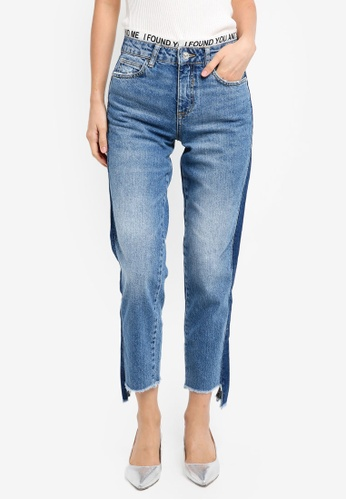 Mango 藍色 Jeans_DEL 55081AA2DCC468GS_1