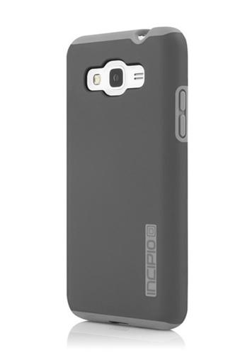Nadjames grey Incipio DualPro HardShell Case with Impact Absorbing Core for Samsung Galaxy J7 1D7BEAC62189EAGS_1
