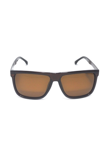 2i's to eyes brown Sunglasses Polarized│Brown Color Frame│Brown Lens│UV400 Protection│2is Edgar C 758F5GLEE55142GS_1