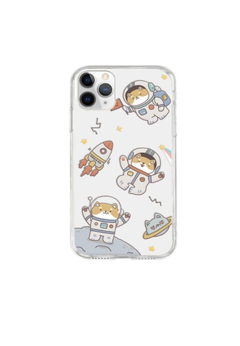 Kings Collection white Astronaut Shiba Inu iPhone 12 Case (KCMCL2230) BF906AC5858070GS_1