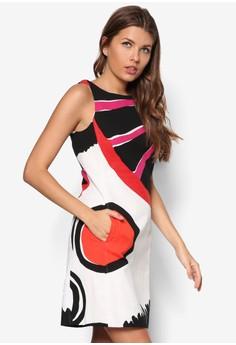 Sleeveless Woven Dress