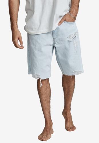 Cotton On blue Loose Fit Shorts E491BAA768B87FGS_1