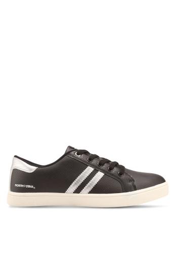 North Star 黑色 休閒皮革運動鞋 A6544SH475360CGS_1