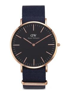 aa9c8e499f13 Classic Bayswater Black Watch 40mm E8A24AC84BDA62GS 1 Daniel Wellington ...