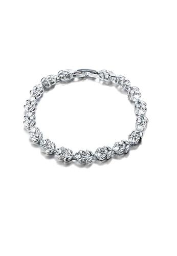 ADORA Swarovski Clear Crystal Bracelet AD365AC2VS2HHK_1