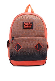 d2a021f9266 Superdry orange Knitter Montana Backpack CA4E3ACAFD7774GS_1