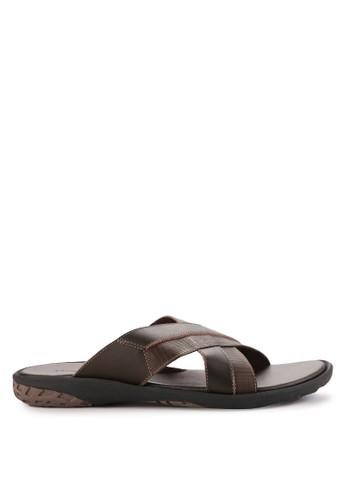Andre Valentino brown Men Shoes 60066Za 14DF5SH8258AE7GS_1