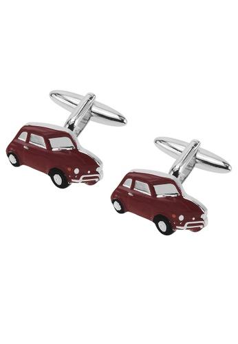 CUFF IT red Red Car Cufflinks CU047AC2UQPOHK_1