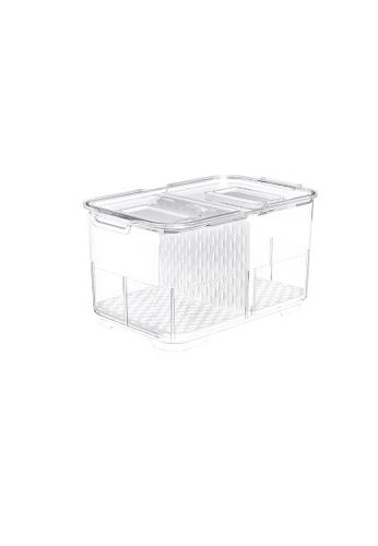 MakeRoom white Fruit&Veggie Drain Box-M 3EA1CHL1E4D2C1GS_1