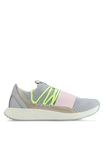 Under Armour grey UA W Breathe Lace Shoes UN337SH0SU9VMY_1