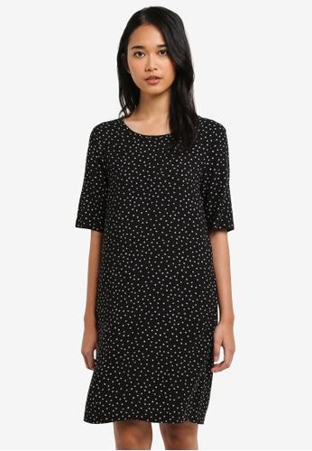 ONLY black Nova T-Shirt Dress 11BB3AA3A94D57GS_1