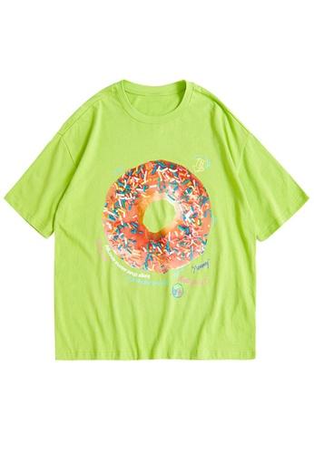 Twenty Eight Shoes Trend Printed Short T-shirt 1565S21 4C490AA5E28BB1GS_1