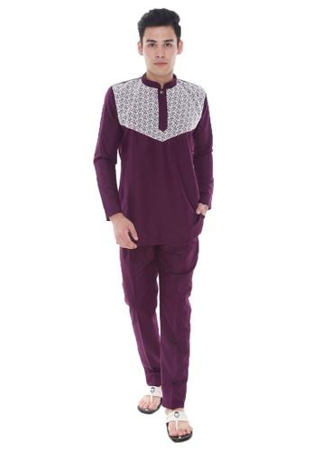 Amar Amran purple Kurta Ali EEFD8AA87B7186GS_1