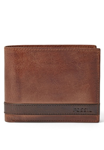Fossil brown Fossil Coin Bifold Wallet ML3653200 FO313AC21ILISG_1