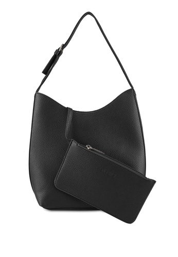 Perllini&Mel black Faux Leather Single Handle 178F8AC32C064CGS_1