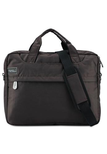 Bagstationz brown Stylish 2-Way 15.6 Inch Laptop Bag 7718BACCF64EF2GS_1