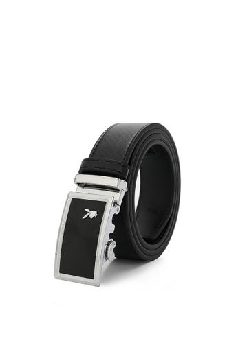 Playboy black Men's Belt - 35mm Automatic Buckle D6F77ACCFDFBABGS_1