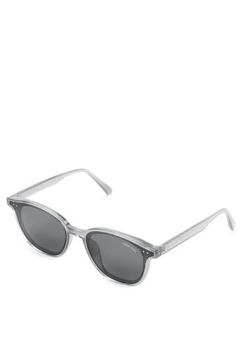 Urban State black Polarized Plastic Solo Square Sunglasses A8737GLD4E522CGS_1