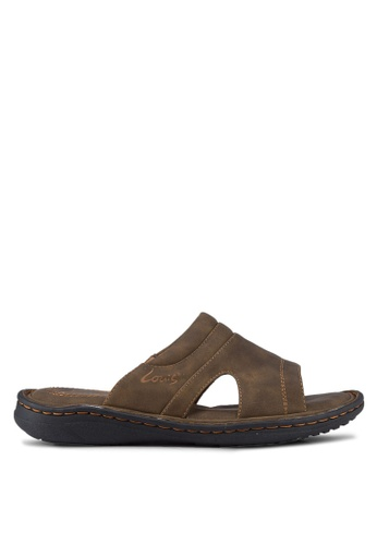 Louis Cuppers brown Casual Sandals LO977SH35RCYMY_1