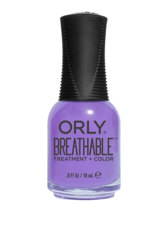 Orly purple Orly Breathable Nail Lacquer Feeling Free 34BC9BE11384EAGS_1