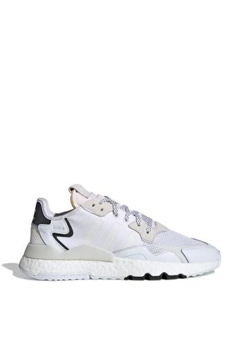 ADIDAS white nite jogger 5A7D8SHD02FCA0GS_1