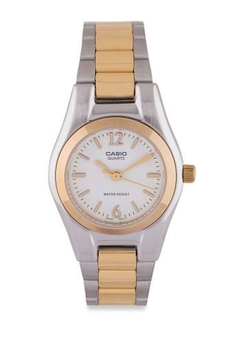 Casio LTP-1253SG-7ADF 不esprit outlet台北銹鋼錶, 錶類, 不銹鋼錶帶