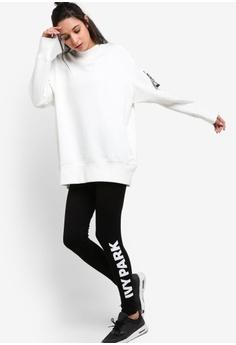 45% OFF Ivy Park White Logo Ankle Leggings RM 139.00 NOW RM 76.90 Sizes XXS  XS S M L 256b4c17b