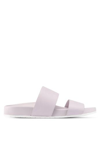 ALDO purple Eraveth Flat Sandals A4174SHF55F5BFGS_1