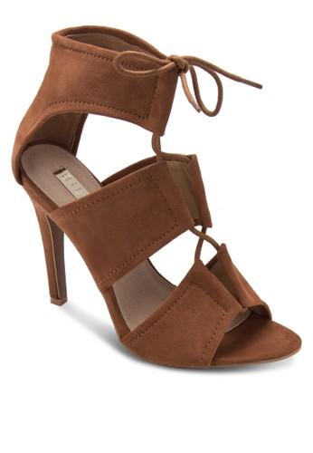 Orto 高跟繫帶高跟涼鞋, 女鞋,esprit服飾 鞋