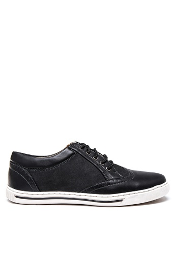 H2Ocean black Sampson Lace up Loafers H2527SH21YGWPH_1
