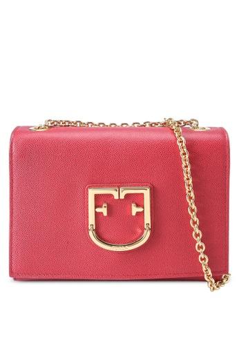 Furla red Viva Mini Pochette Crossbody Bag F41F8AC7F648ADGS_1