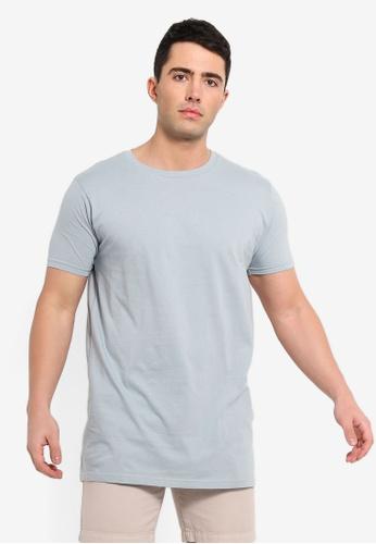 Brave Soul 藍色 短袖圓領T恤 7387CAAC3A0E35GS_1