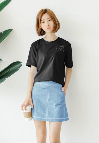 4b160c95d9b7c Buy Shopsfashion Iris Denim Skirt in Light Blue Online on ZALORA ...