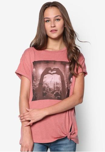 棉質圖案設計Tzalora是哪裡的牌子EE, 服飾, 服飾