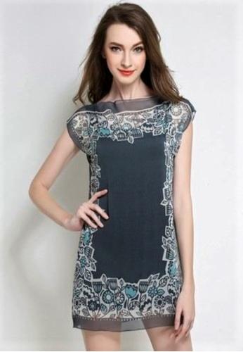 Sunnydaysweety multi See Through Floral One Piece Dress K20052105 C3B83AA92C5AD0GS_1