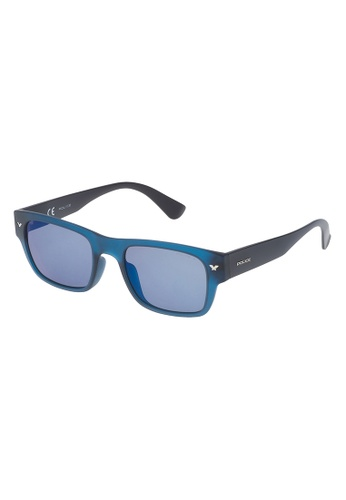 Police blue POLICE Offstage 1 Polarized Sunglasses SPL150M 892B PO706AC77OYOMY_1